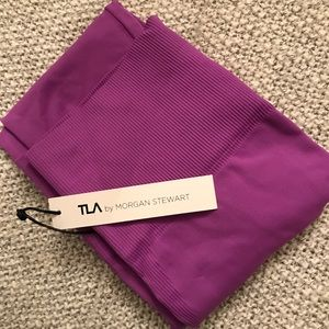 T.La Pants - Bandier TLA by Morgan Stewart Orchid Legging